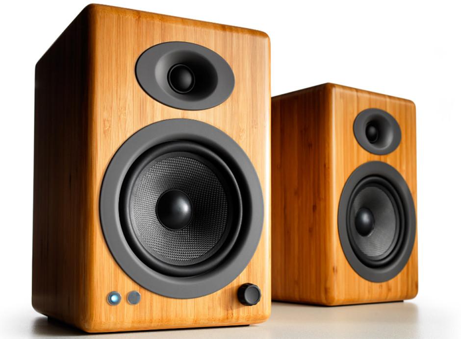 Enceintes amplifiées Audioengine A5+ Wireless avec réception Bluetooth