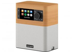 Sonoro Stream Noyer : Poste de radio Internet, FM, DAB/DAB+ Bluetooth
