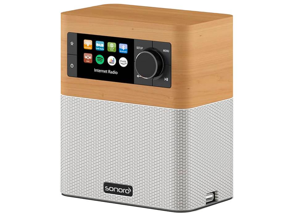 Sonoro stream Poste de radio triple Tuner WiFi Spotify Deezer Bluetooth et USB