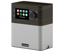 Sonoro Stream Noyer : Poste de radio Internet, FM, DAB/DAB+ Bluetooth