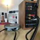 Audio Pro Link 1 branché sur une enceinte amplifiée, l'Audioengine HD3