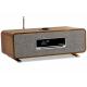 Ruark Audio R3 Noyer - Chaîne HiFi connectée WiFi, Bluetooth, lecteur réseau, triple tuner radio Internet, FM et DAB+, lecte