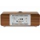 Ruark Audio R3 Noyer - Connectiques audio : numérique optique, rca analogique, usb-c, WiFi et Bluetooth