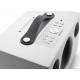 Audio Pro Addon C5A Blanc - Pavé de boutons pour l'accès aux favoris et aux fonctions de lecture, entrée audio mini-jack 3.5mm +