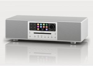 Sonoro MEISTERSTÜCK Argent - Chaîne HiFi triple tuner radio Internet/DAB/FM avec lecteur CD et réception Bluetooth
