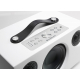 Audio Pro Addon C5 Blanc - Pavé de boutons pour l'accès aux favoris et aux fonctions de lecture, mini-jack 3.5mm