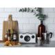 Audio Pro Addon C5 Blanc - Enceinte connectée compacte Wifi, Bluetooth, Airplay pour toutes les pièces de votre maison