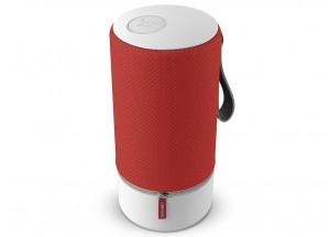 Libratone ZIPP 2 Rouge - Enceinte sans fil WiFi, Bluetooth et AirPlay2 avec batterie intégrée