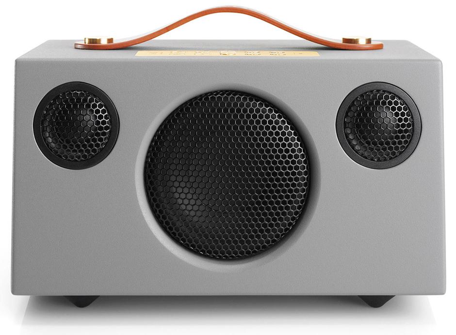 Audio Pro Addon C3 Gris - Enceinte nomade idéale pour usages extérieurs avec batterie intégrée