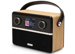 Roberts Stream 94i PLUS Chêne - Poste de radio triple tuner Internet / DAB+ / FM avec Bluetooth