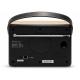 Roberts Stream 94i PLUS Chêne - Connectiques : entrée mini-jack et port de lecture USB, sortie mini-jack et casque
