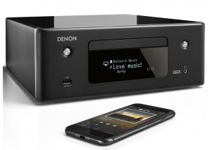 Denon Ceol RCD-N11 Noir - Ampli connecté avec lecteur CD intégré