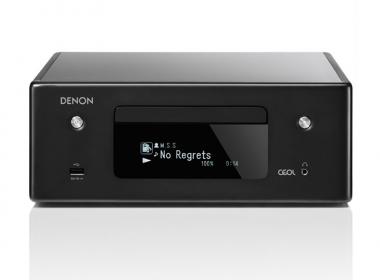 Denon Ceol N11DAB version CRD : ampli HiFi connecté avec lecteur de CD, réseau filaire, WiFi, réception Bluetooth et AirPlay