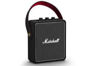 Marshall Stockwell II Noir - Enceinte nomade vintage 20 Watts avec batterie intégrée