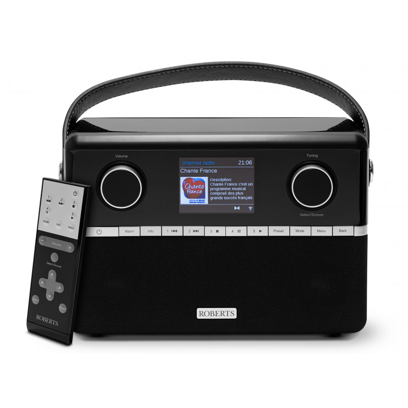 Roberts Stream 94i PLUS - Poste de radio triple tuner Internet / DAB+ / FM avec Bluetooth