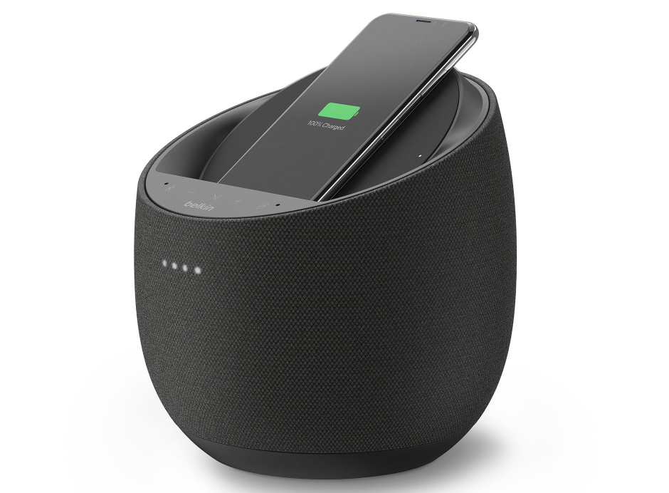 Promotion Enceinte Belkin Devialet Soundform Elite enceinte bluetooth chromecast assistant Google et chargeur à induction