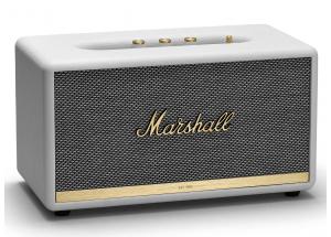 Marshall Stanmore II Bluetooth Blanc - Enceinte d'intérieur polyvalente au design vintage