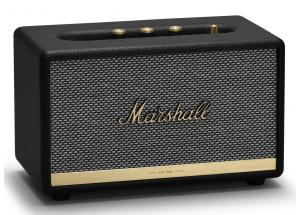 Marshall Acton II Bluetooth Noir - Enceinte d'intérieur compacte au design vintage