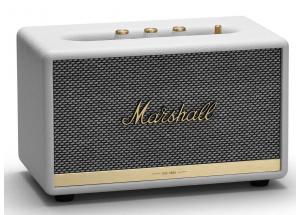 Marshall Acton II Bluetooth Blanc - Enceinte d'intérieur compacte au design vintage