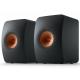 KEF LS50 Meta Noir Carbone - Enceintes passives design contemporain