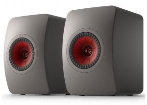 KEF LS50 Meta Gris Titane - Enceintes passives design contemporain