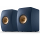 KEF LS50 Meta Bleu Royal - Enceintes passives design contemporain