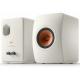 KEF LS50 Meta Blanc Minéral - Enceintes avec évent flexible