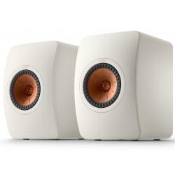 KEF LS50 Meta Blanc Minéral - Enceintes passives design contemporain