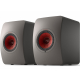KEF LS50 Wireless II Titane - Enceintes actives design contemporain