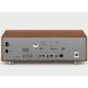 Sonoro PRESTIGE Noyer - Entrées USB, mini-jack, RCA, optique et sorties casque et RCA