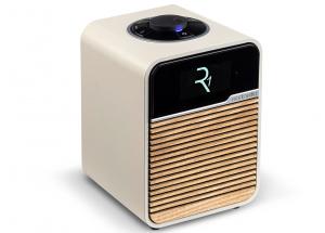 Ruark Audio R1 MKIV Crème - un poste de radio numérique compacte et puissant avec bouton de commande