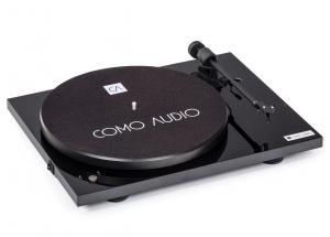Como Audio Platine Noir - Platine vinyle Bluetooth et préamplification phono intégré