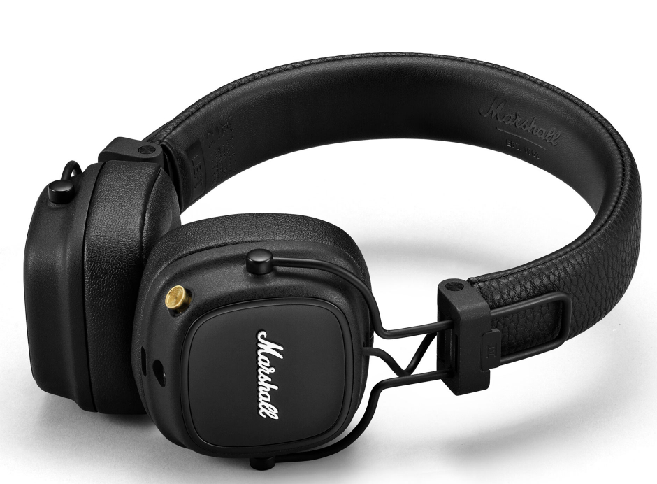 Marshall Major IV : Casque nomade sans fil Bluetooth