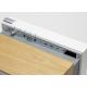La boite concept PR/01 Chêne - un tiroir invisible pour accéder aux multiples connectiques