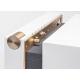 La boite concept PR/01 Blanc - un tiroir invisible pour accéder aux multiples connectiques
