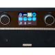 Roberts Stream 94i PLUS Chêne - Un large écran et des boutons pour un accès rapide aux fonctions