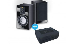 Bluesound Powernode 2i + Enceintes Magnat Signature 703 Noir