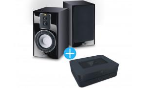 Bluesound Powernode HDMi e-ARC + Enceintes Magnat Signature 703 Noir