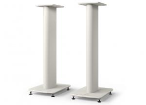 KEF S2 floor stand Blanc - Paire pied KEf performance pour enceintes KEF LS50 Meta et LS50 Wireless II