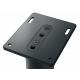 KEF S2 floor stand Noir - Les pieds de sol S2 offrent la plate-forme idéale pour vos enceintes