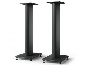 KEF S2 floor stand Noir - Rigidité et stabilité pour une meilleure acoustique de vos KEF LS50 Meta et LS50 Wireless II