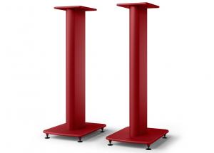 KEF S2 floor stand Rouge - Rigidité et stabilité pour une meilleure acoustique de vos KEF LS50 Meta et LS50 Wireless II
