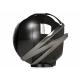 Cabasse The Pearl Noir - Enceinte connectée HiFi design avec haut-parleur tri-coaxial de 1600 Watts RMS