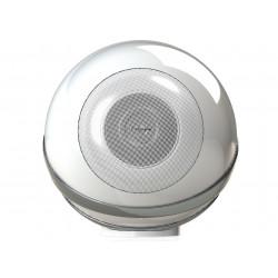 Cabasse The Pearl Blanc - Enceinte connectée HiFi design avec haut-parleur tri-coaxial de 1600 Watts RMS