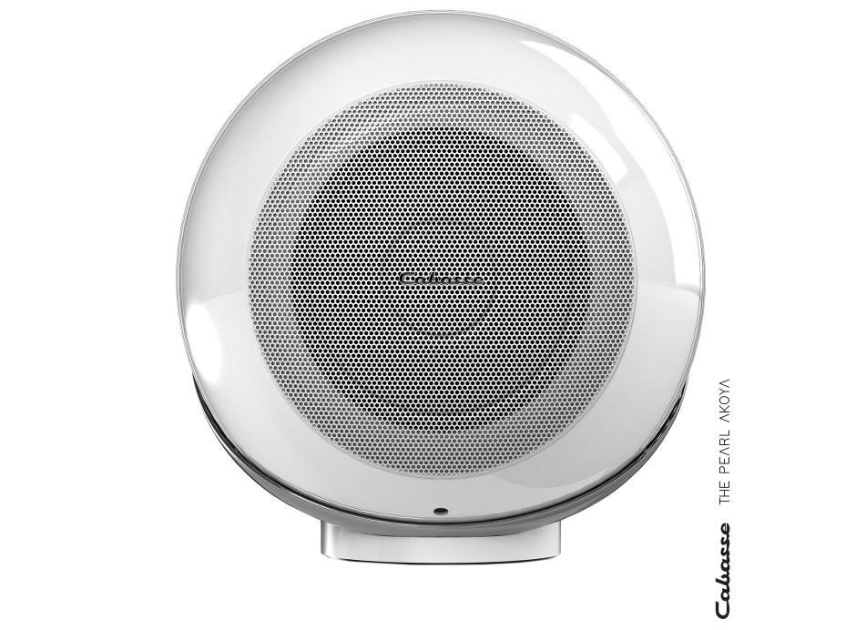 Cabasse The Pearl Akoya Blanc - Enceinte connectée HiFi design avec haut-parleur tri-coaxial de 1050 Watts RMS