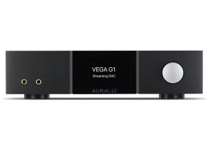 Auralic VEGA G1 - Lecteur réseau HiFi avec DAC 32 bits / 384 kHz, préampli, ampli casque