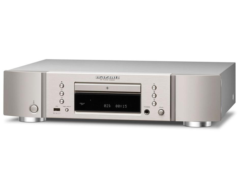 Marantz CD6007 : Lecteur CD HiFi avec ampli casque et port USB