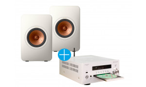 Advance Paris MyConnect 60 Blanc + KEF LS50 Meta Blanc