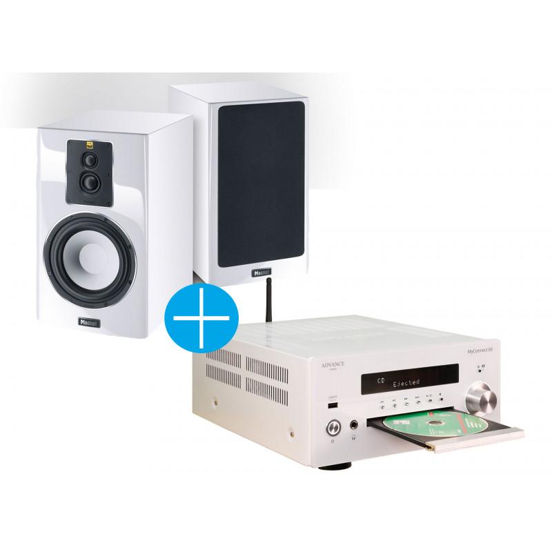 MyConnect 60 : amplificateur connecté HiFi avec lecteur CD intégré