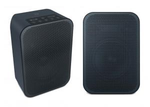 Bluesound PULSE FLEX 2i Noir : enceinte connectée réseau, bluetooth et AirPlay. Lecture audio HD et fonctions multiroom musical